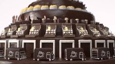 Animated Zoetrope Cake Work by Sixty40
