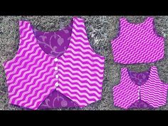 In this video i will teach you how to make jacket for kurti drafting cutting and stitching in hindi. watch this easy step by step video tutorial to do it you. Sewing Clothes Women, Diy Clothes, Clothes For Women, Blouse Back Neck Designs, Blouse Designs, Jacket Style Kurti, Sewing Collars, Stitching Dresses, Frock Design