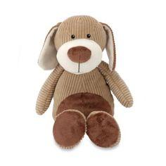 Melissa & Doug® Plush Corduroy Cutie Dog - buybuyBaby.com