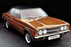 The Ford Cortina is back, but for all the wrong reasons. The Ford Cortina was a statement of British automotive manufacturing for 20 years. From its first conception in the Ford Cortin… 70s Cars, Cars Uk, Retro Cars, Vintage Cars, Classic Cars British, Ford Classic Cars, British Car, Ford Motor Company, Ford Cortina