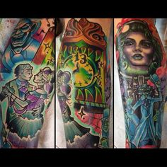 Haunted Mansion Tattoo