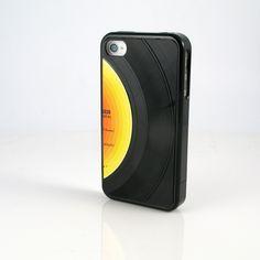 iPhono iPhone 4/4S Case Black  by WrecordsByMonkey