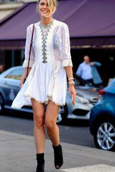 Sofie Valkiers, arrival for Atelier Versace Haute Couture, Plaza de la Bourse