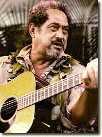 Gabby Pahinui- the most famous founding father of my generation's Hawaiian music