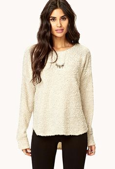 Bouclé Sweater | FOREVER21 - 2040496420