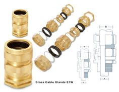 E1W Cable glands Brass Cable Glands  #E1WCableglands  #BrassCableGlands   A1Metallics is a manufacturers exporters and suppliers of #brasscableglands  #e1wcableglands  #brasscablegland  size brass cable glands cable entry gland gland connector brass cable gland pg cable glands