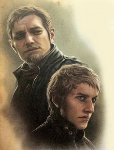 Tytos Lannister and young Tywin Lannister, fromThe World of Ice and Fire [x]
