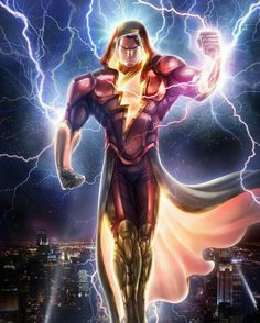 The original Captain Marvel!