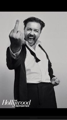 So much love for Ricky Gervais