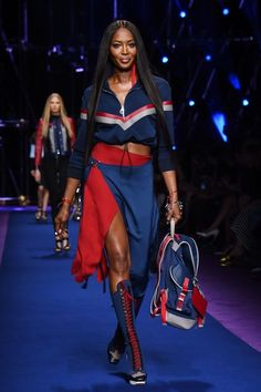 Naomi Campbell at Versace - The Best Front Row Fashions at Milan Fashion Week…