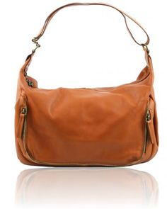 SERENA TL141286 Soft leather shopping bag