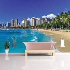 Bildergebnis für foto tapete hawaii Honolulu Beach, Wall Murals, Wallpaper Murals, Hawaii, Great Deals, Outdoor Decor, Diy, Furniture, Home Decor