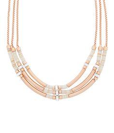 East Hampton Triple Collar Necklace | Festival Style | Henri Bendel