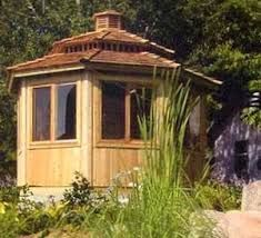 Image result for red cedar screened gazebo