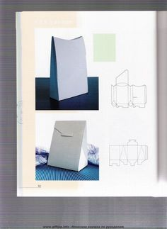 folding boxes: origami books - crafts ideas - crafts for kids Book Crafts, Diy And Crafts, Crafts For Kids, Paper Crafts, Origami Box, Origami Paper, Scrapbooks, Pocketfold Invitations, Cute Box