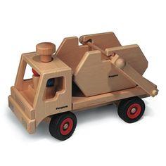 Fagus Wooden Toy Skip Dump Truck