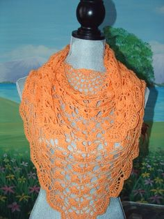 This pattern is By Cheri McEwen of Cheryl McEwen designs. It is called the Morpho shawlet. Adding to to my ever increasing list of shawls patterns that I would love to do. Get the pattern @ http://crochetvolution.com/spring-2012/morpho-shawlette