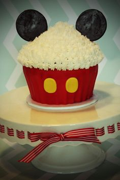 1st Birthday Cake - Cake Ops Cakery