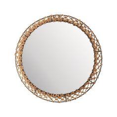 Fisherman Rope Mirror, Large  Price : $168.00 http://my-luxe-habit.webstorepowered.com/Lazy-Susan-914008-Fisherman-Mirror/dp/B008O16DXU