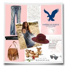 """""""The New Bohemian with American Eagle Outfitters: Contest Entry"""" by bloomy53 on Polyvore"""