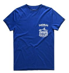 Deus Thomas T-Shirt - Navy www.westgoods.co