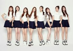 Lovelyz (Hangul: 러블리즈) is a South Korean girl group formed in 2014 by Woollim Entertainment and its company first girl group. The group consists of eight members: Baby Soul, Jiae, Jisoo, Mijoo, Kei, Jin, Sujeong and Yein. Their debut album, Girls' Invasion, was released on November 17, 2014.  More info : https://en.m.wikipedia.org/wiki/Lovelyz