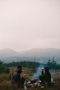 camp / fire