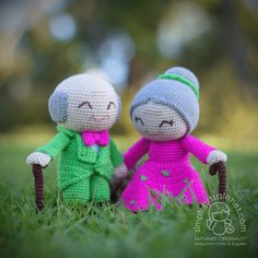 Alice & Michael Amigurumi - Old Couple Love