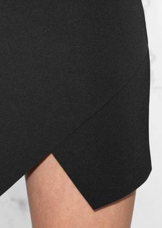 & Other Stories image 4 of Asymmetric Skirt in Black