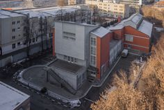 Melnikov and Moscow Workers' Clubs: Translating Soviet Political Ideals into Architecture,Dorhimzavod Club by the name of Frunze, 1929. Image © Denis Esakov