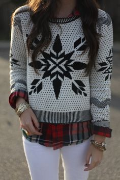 Winter Print and Plaid.