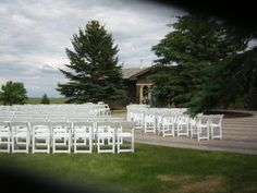 Offsite front yard wedding-Gillette Wyoming