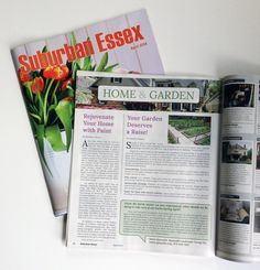 """Suburban Essex magazine features Amy Wax as an expert on how to """"Rejuvenate Your Home With Paint!"""" #amywax"""