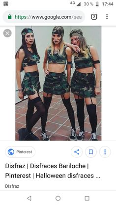 Looking for Best DIY College Halloween Costume Ideas? Get your hands on the finest Halloween costumes for college & college couple Halloween costume here. Halloween Tumblr, Best Friend Halloween Costumes, Halloween Kostüm, Halloween Outfits, Soldier Costume, Halloween Kleidung, Game Costumes, Costume Ideas, Fantasias Halloween