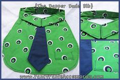 The Dapper Dude Bib Green and Blue by FancyPantsAccessory on Etsy, $12.00