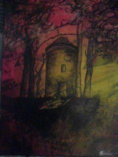 Cumbernauld Dovecote Glen. By Sarah Rennie.