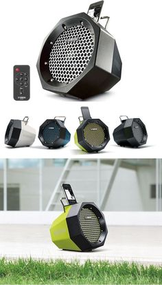 ♪ ♫ ♬  Play your favorite music anywhere with a portable speaker system that doesn't suck. The Yamaha PDX-11 offers style and toughness in its sleek octagon design. $99 ♪ ♫ ♬
