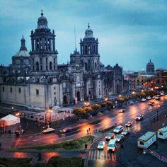 Plaza de la Constitución (Zócalo) in Cuauhtémoc, Distrito Federal