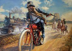 "The first ""outlaw"" biker? - David Uhl"