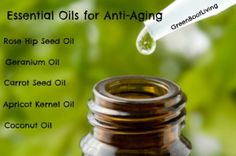 Certain essential oils are better for anti aging and wrinkle prevention than others. I love using essential oils for anti aging creams and serums.