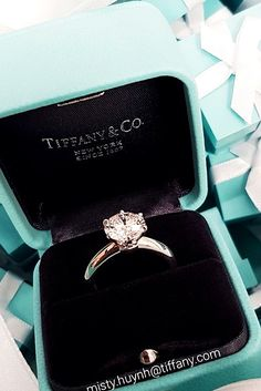 Most Loved Tiffany Engagement Rings ❤ See more: http://www.weddingforward.com/tiffany-engagement-rings/ #weddingforward #bride #bridal #wedding