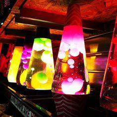 Neon Lava Lamps <3
