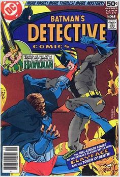 "DETECTIVE COMICS 479 ""If a Man be Made of Clay""  Oct.  1978"