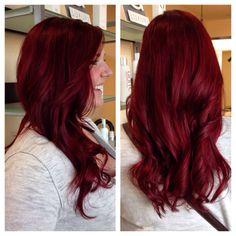 Goldwell red head - Sam  Beautiful! Wonder what shade it is? mmm...