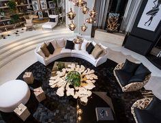 Alison Antrobus and Ruby Ramirez // Stella McCartney Beautiful Interior Design, Contemporary Interior, Living Room Modern, Living Room Decor, Living Rooms, Elle Decor, Interior And Exterior, Luxury Interior, Interior Decorating