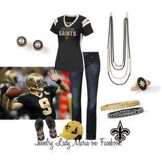 New Orleans Saints featuring lia sophia jewelry