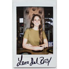 LANA-DEL REY ❤ liked on Polyvore featuring fillers, pictures, people, lana del rey and polaroids