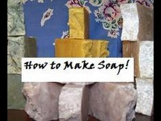"""Hot Process Crock-Pot - How to make Homemade Lye Soap -- Covers Superfats & Recipes Under Video. Click """"Show More"""" for recipes and links to Soap Calculator, Fragrance and Essential Oil Calculator. She also shows you how to use them. (This person is very good at teaching how to make hot processed soaps in crock-pots. She is very detailed. - Deb)"""