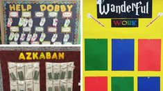 Magical Harry Potter Bulletin Boards