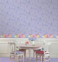 Disney Princess Tonal Scenic Wallpaper Purple, (http://www.thatsmyroom.com/disney-princess-tonal-scenic-wallpaper-purple/)